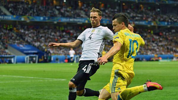 Đội bóng đá Đức đánh bại đội  tuyển Ukraina - Sputnik Việt Nam