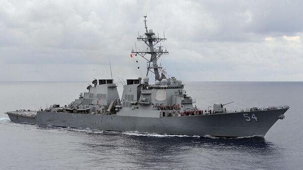 USS Curtis Wilbur  - Sputnik Việt Nam