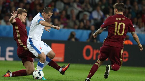Nga thua Slovakia tại Euro-2016 - Sputnik Việt Nam