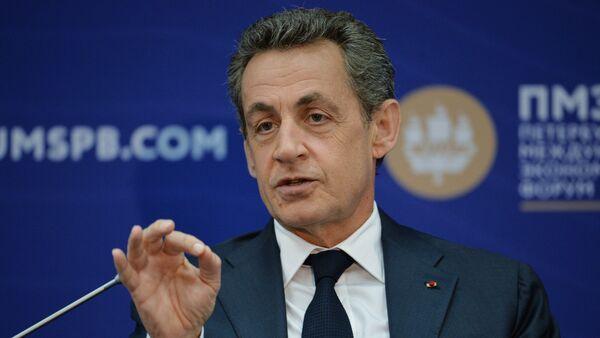 Сựu tổng thống Pháp Nicolas Sarkozy - Sputnik Việt Nam