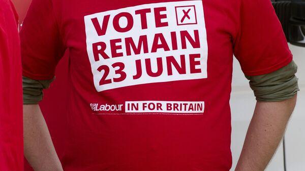 Cuộc trưng cầu dân ý về tư cách thành viên của Anh trong EU - Sputnik Việt Nam