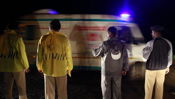 Cảnh sát và cấp cứu ở Ấn Độ - Sputnik Việt Nam