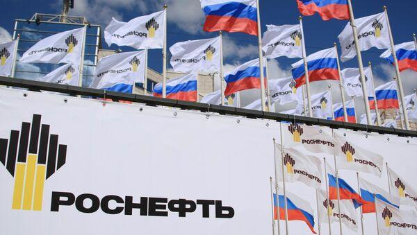 Logo của công ty Rosneft - Sputnik Việt Nam