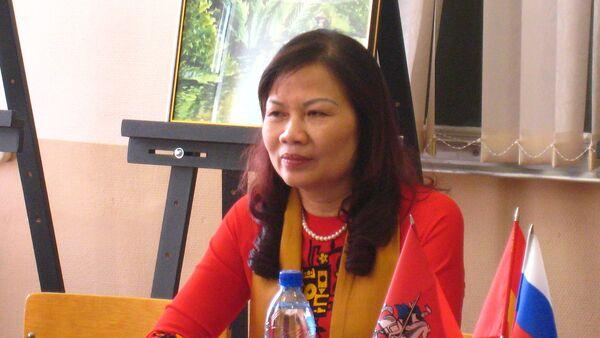 Phó Chủ tịch thường trực Hội Liên hiệp Phụ nữ thành phố Hà Nội, bà Nguyễn Thị Tuyết - Sputnik Việt Nam