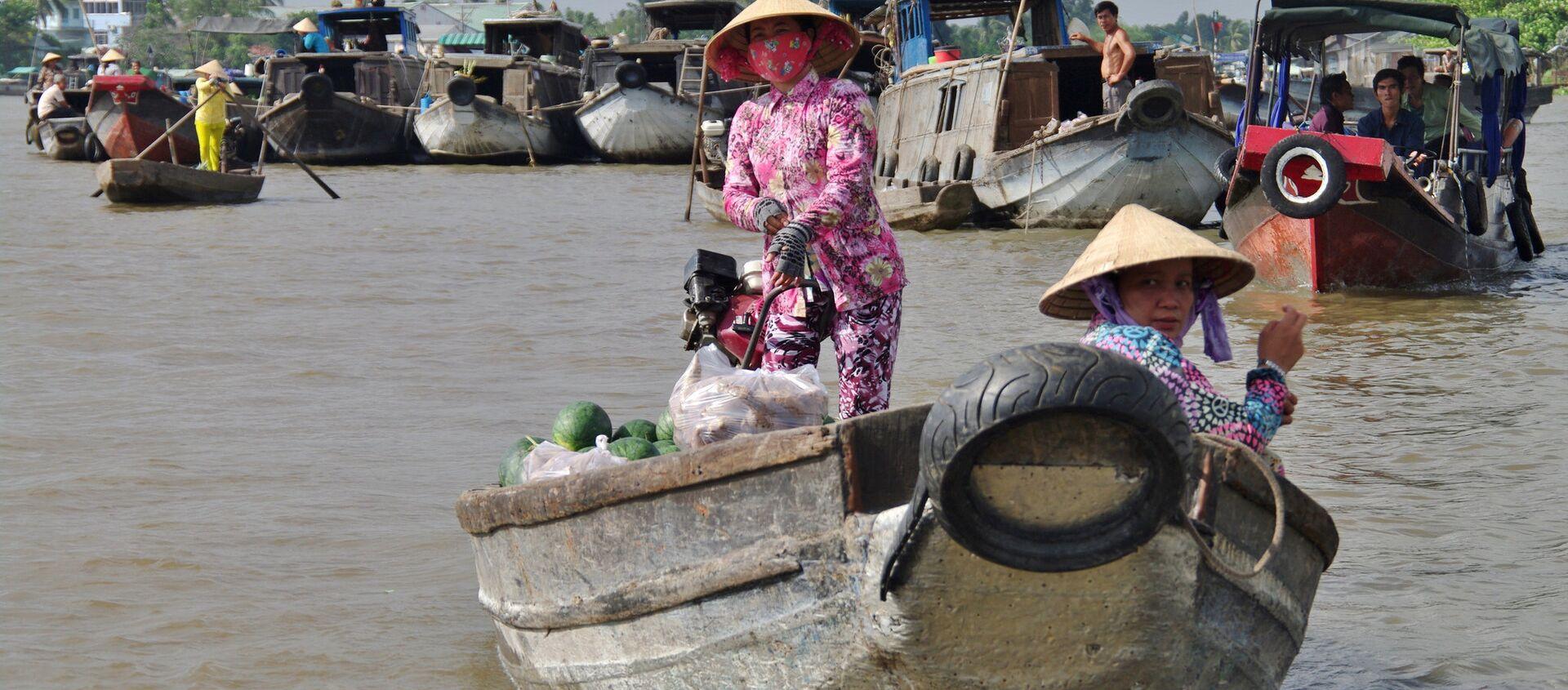 sông Cửu Long  - Sputnik Việt Nam, 1920, 21.11.2019