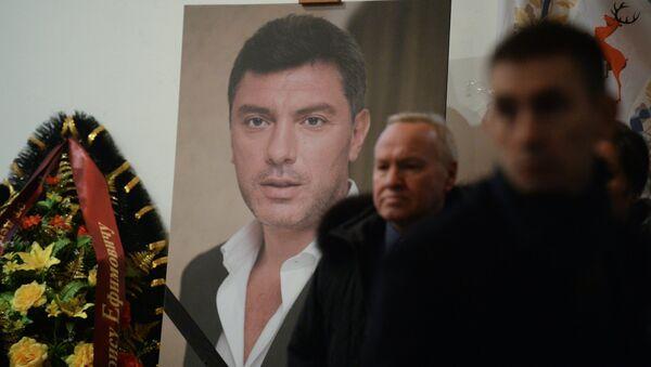 Lễ tang chính trị gia  Boris Nemtsov - Sputnik Việt Nam