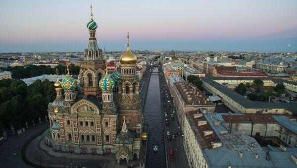Nhà thờ Chúa Cứu Thế trên máu đổ ở St Petersburg - Sputnik Việt Nam