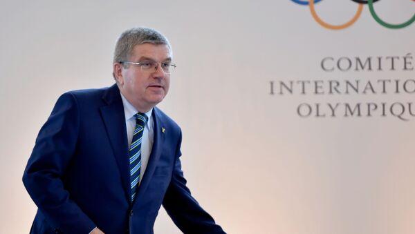 Chủ tịch Ủy ban Olympic quốc tế  Thomas Bach - Sputnik Việt Nam