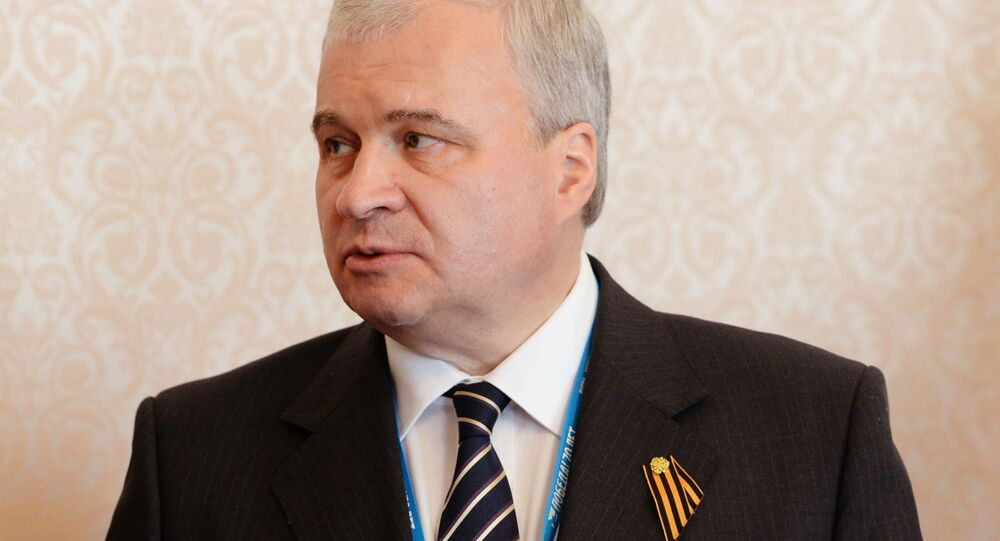 Đại sứ Nga tại Trung Quốc Andrei Denisov