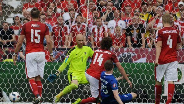 Trận đấu Iceland - Áo - Sputnik Việt Nam