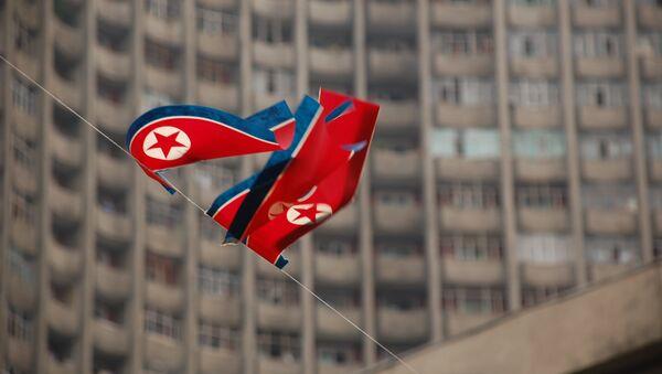 Quốc kỳ Bắc Triều Tiên - Sputnik Việt Nam