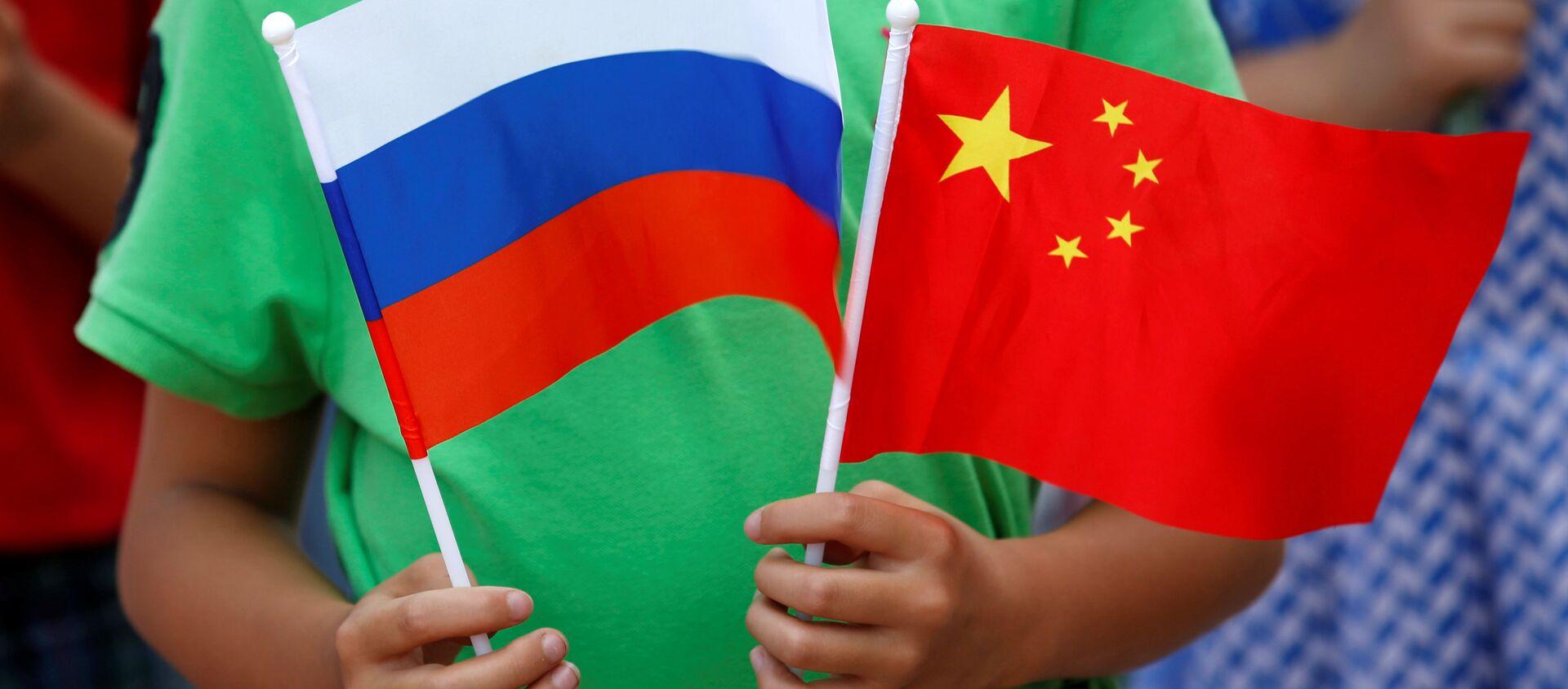 Quốc kỳ Trung Quốc và Nga - Sputnik Việt Nam, 1920, 23.03.2021