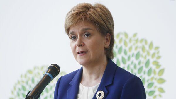 Thủ tướng Chính phủ Scotland Nicola Sturgeon - Sputnik Việt Nam