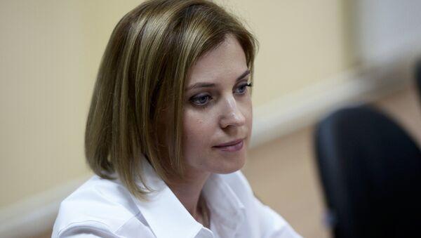 Сông tố viên Crưm Natalia Poklonskaya - Sputnik Việt Nam
