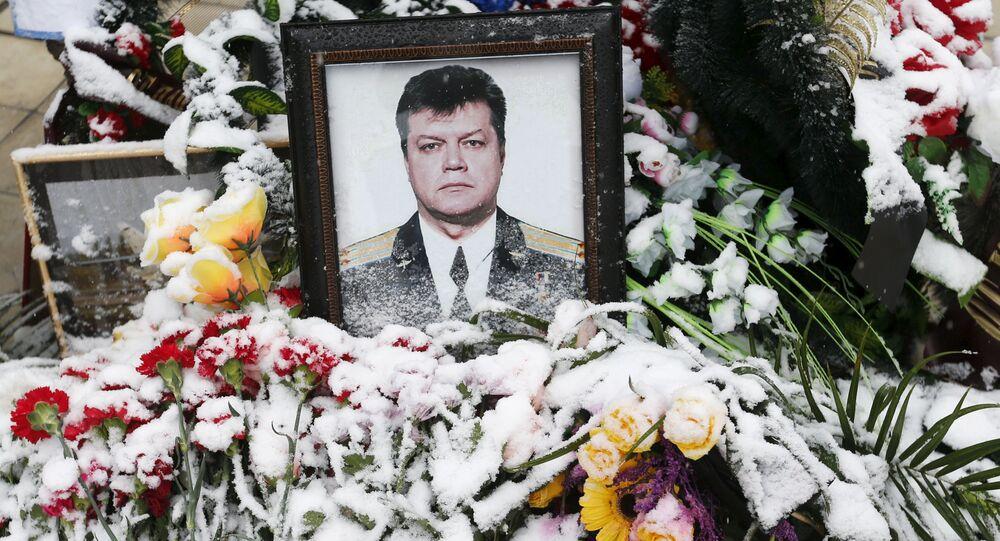 Mộ của phi công Su-24 Oleg Peshkov bị giết hại ở Thổ Nhĩ Kỳ