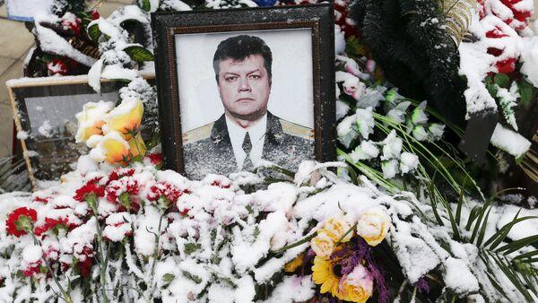 Mộ của phi công Su-24 Oleg Peshkov bị giết hại ở Thổ Nhĩ Kỳ - Sputnik Việt Nam