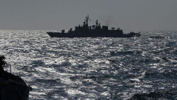 Tàu NATO TCG Turgutreis ở Biển Đen - Sputnik Việt Nam