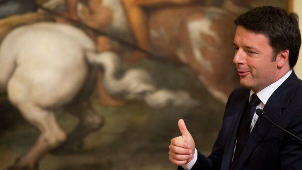 Thủ tướng Ý Matteo Renzi - Sputnik Việt Nam