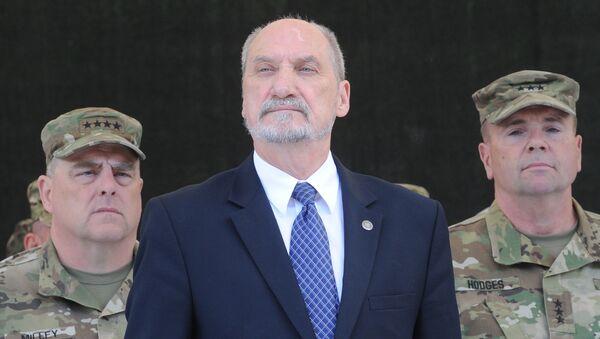 Bộ trưởng Quốc phòng Ba Lan Antoni Macherevich - Sputnik Việt Nam