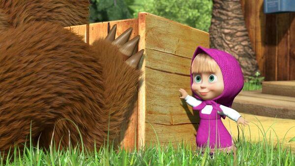 Phim hoạt hình Masha và Gấu - Sputnik Việt Nam