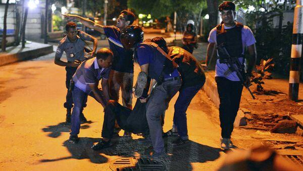Vụ tấn công khủng bố tại Bangladesh - Sputnik Việt Nam