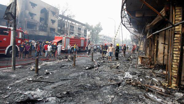 Đánh bom kép ở Baghdad - Sputnik Việt Nam