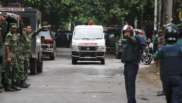 Cảnh sát Bangladesh - Sputnik Việt Nam