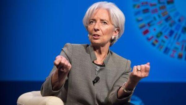 Bà Christine Lagarde đứng đầu Quỹ Tiền tệ Quốc tế - Sputnik Việt Nam