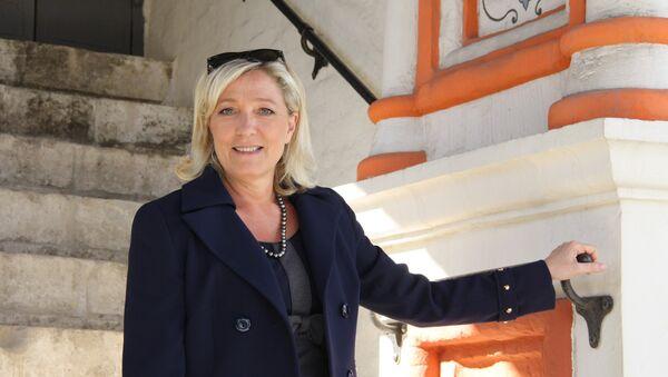 Marine Le Pen tại Matxcơva - Sputnik Việt Nam