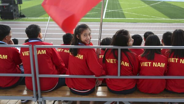 Đoàn Việt Nam tham gia Đại hội Thể thao Quốc tế lần thứ VI Trẻ em châu Á ở Yakutsk - Sputnik Việt Nam