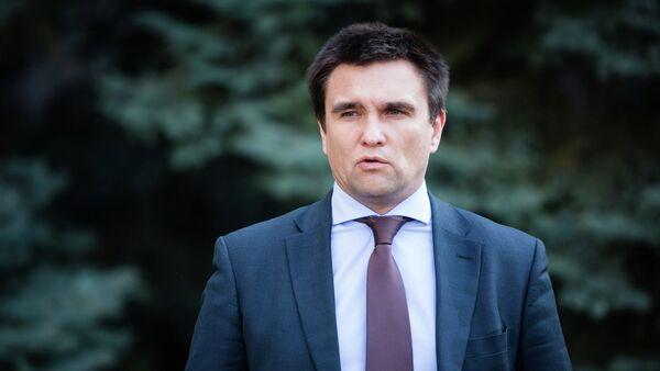 Bộ trưởng Ngoại giao Ukraina Pavel Klimkin - Sputnik Việt Nam