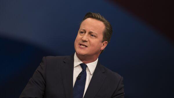 Thủ tướng Anh David Cameron - Sputnik Việt Nam