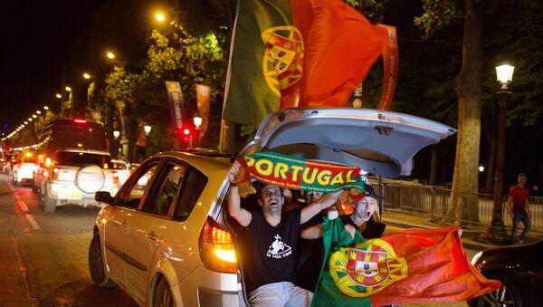 Fan Bồ Đào Nha sau trận chung kết  Euro-2016 - Sputnik Việt Nam