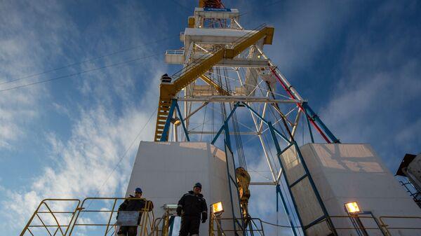 Giàn khoan của tập đoàn Gazprom - Sputnik Việt Nam