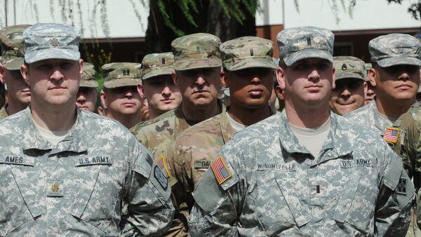 Quân nhân Mỹ trong tập trận Anaconda-16 ở Ba Lan - Sputnik Việt Nam