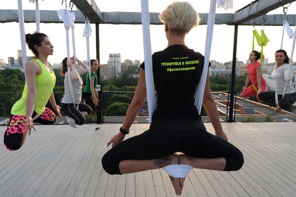 """Đề án """"Fitness trên mái nhà"""" - Sputnik Việt Nam"""
