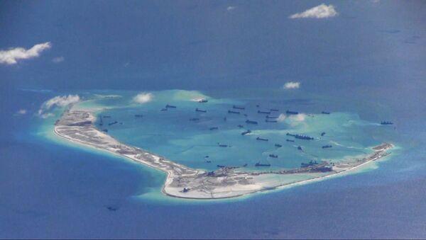 Tàu Trung Quốc trong vùng quần đảo Trường Sa đang tranh chấp ở Biển Đông - Sputnik Việt Nam