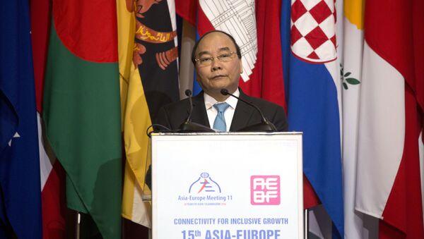 Thủ tướng Việt Nam Nguyễn Xuân Phúc - Sputnik Việt Nam