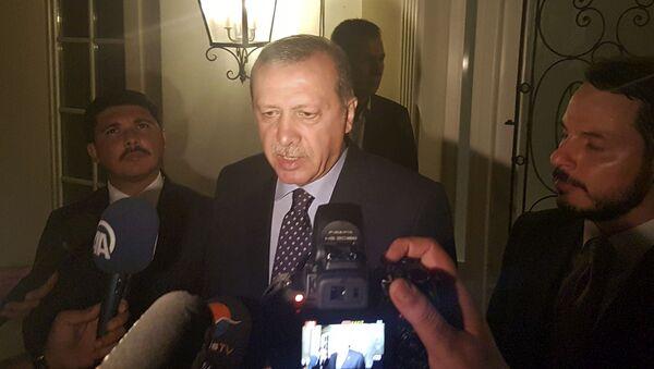 Tổng thống Thổ Nhĩ Kỳ Tayyip Erdogan tại Marmaris - Sputnik Việt Nam