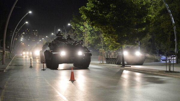 Xe tăng tại Ankara - Sputnik Việt Nam