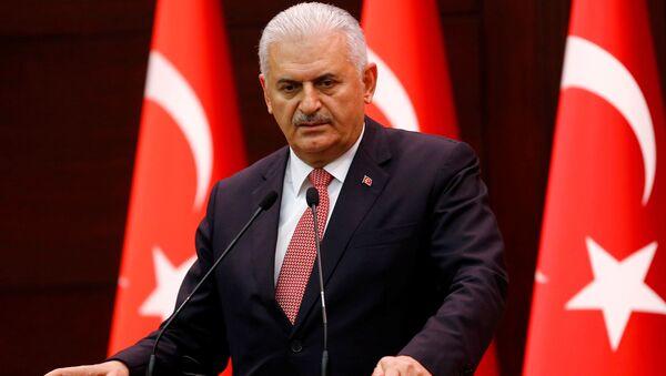 Thủ tướng Thổ Nhĩ Kỳ Binali Yildirim - Sputnik Việt Nam