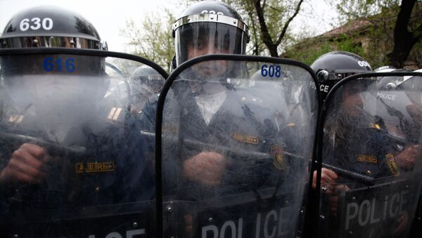cảnh sát Armenia - Sputnik Việt Nam