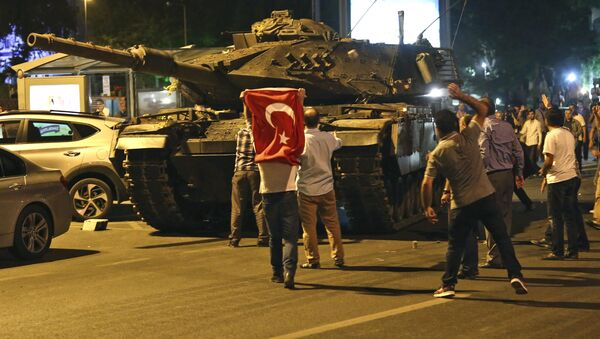 Nỗ lực đảo chính ở Thổ Nhĩ Kỳ - Sputnik Việt Nam
