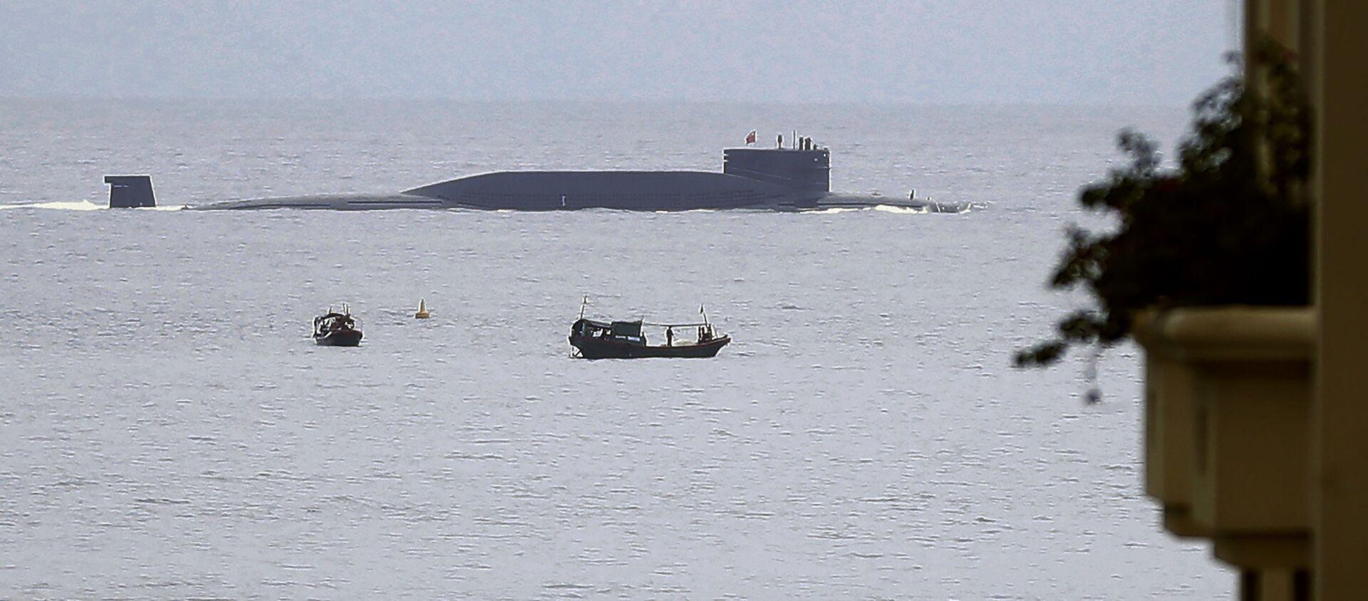 Tàu ngầm hạt nhân Trung Quốc - Sputnik Việt Nam, 1920, 25.12.2019