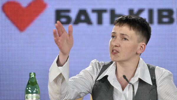 Nadezhda Savchenko - Sputnik Việt Nam