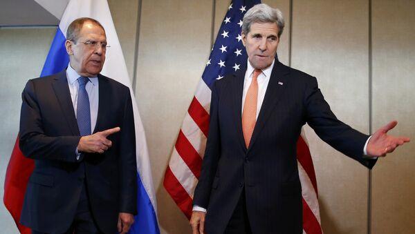 Hội đàm giữa hai Ngoại trưởng Lavrov và Kerry - Sputnik Việt Nam