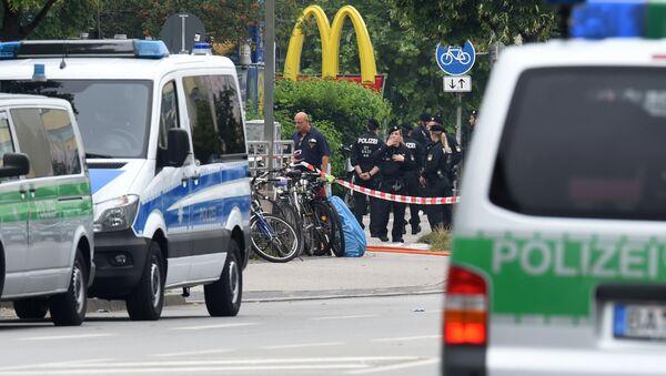 Xả súng tại Munich - Sputnik Việt Nam