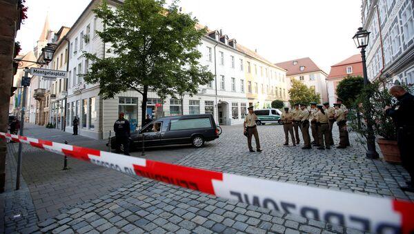 Vụ tấn công ở Ansbach, Đức. - Sputnik Việt Nam