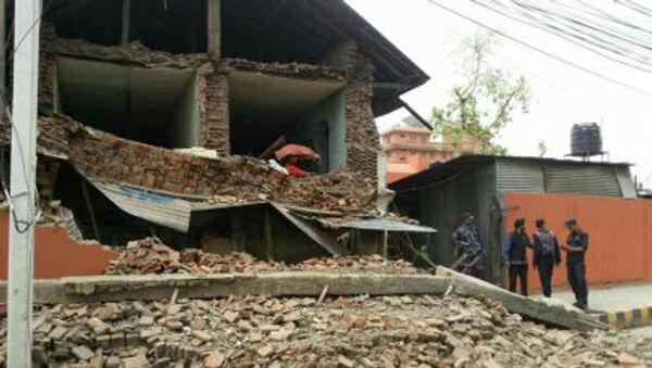 Động đất mạnh ở thủ đô Nepal - Sputnik Việt Nam