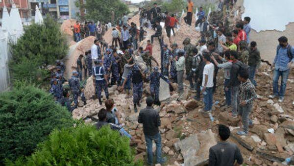 Động đất ở Nepal - Sputnik Việt Nam